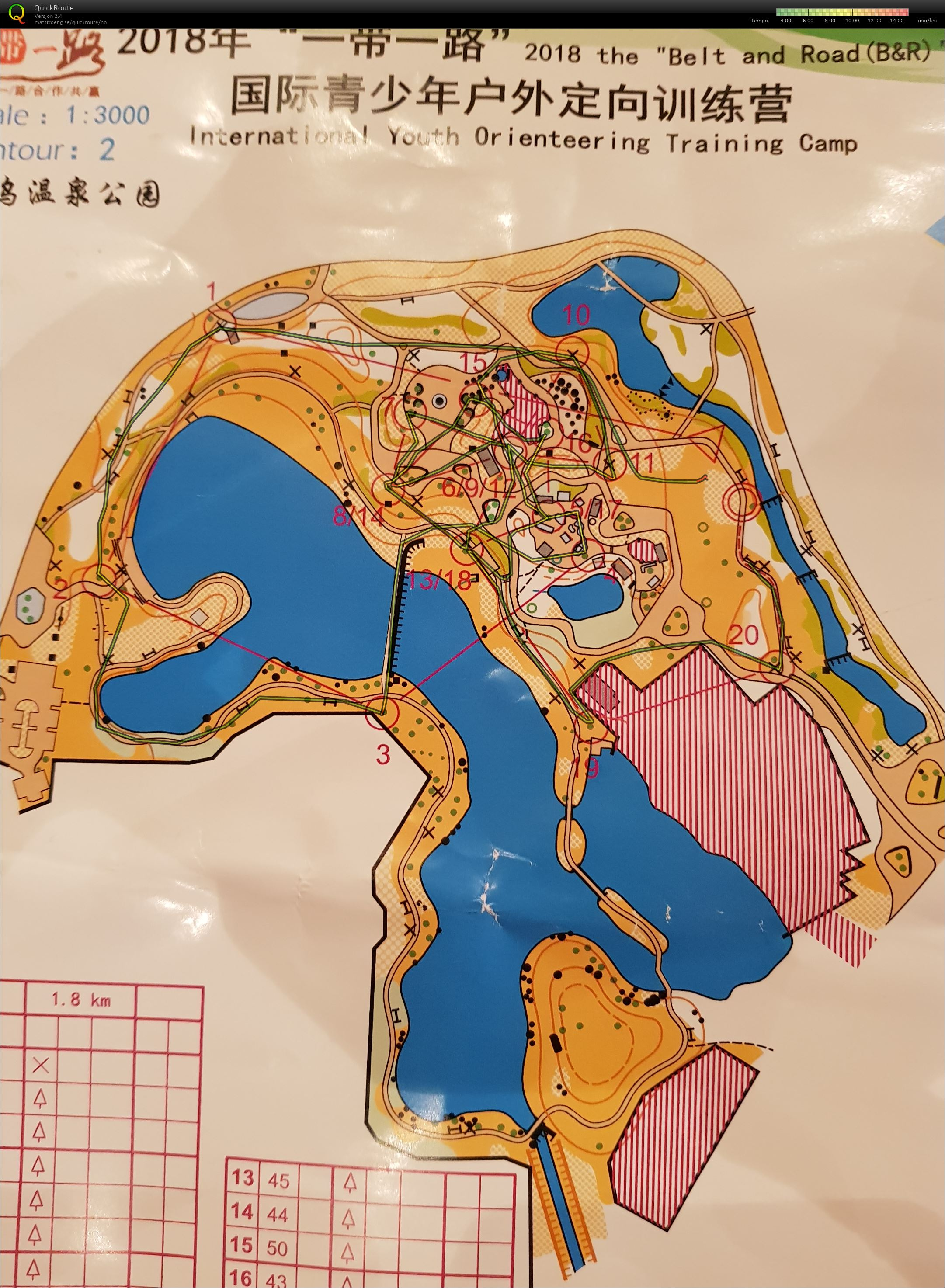 Belt and Road International Youth Orienteering Camp (27.10.2018)