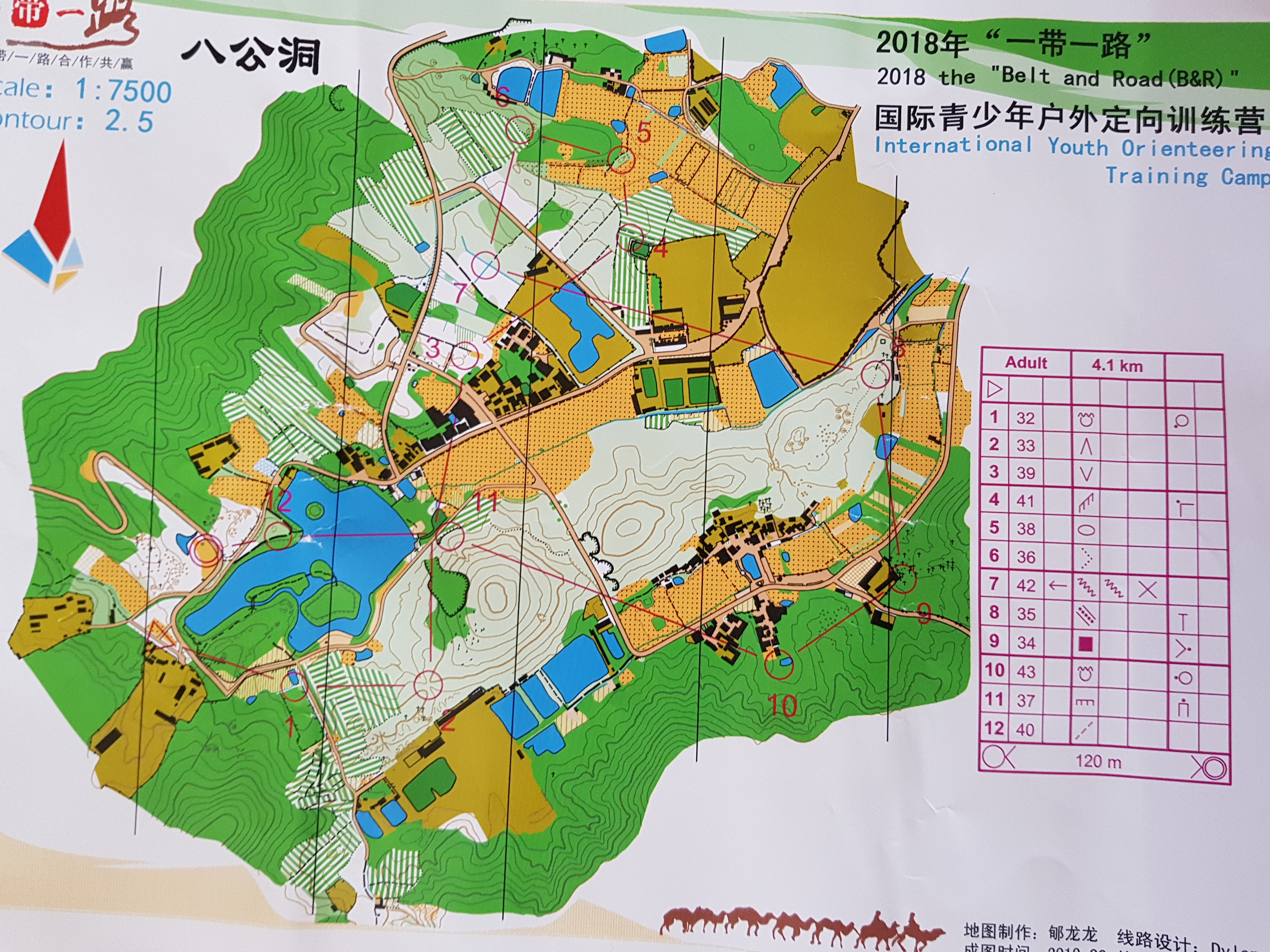 Belt and Road International Youth Orienteering Camp (28.10.2018)